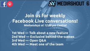 Client Case Study – MediaShout: Using Facebook to Show Their Heart, Engage Customers, Enhance Webinars and Distribute Free Media
